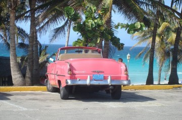 Amrican old car